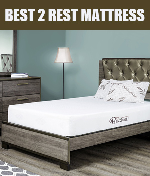 BEST 2 REST 10 inch cool gel memory foam mattress