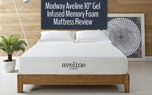 Modway Aveline 10 Gel Infused Memory Foam Mattress Review