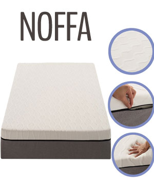 NOFFA Memory Foam mattress