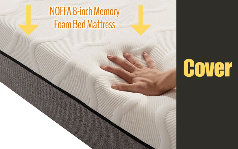 NOFFA 8-inch mattress cover