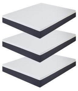 Olee Sleep 10 Inch EOS Multi Layer Gel Infused Memory Foam Mattress