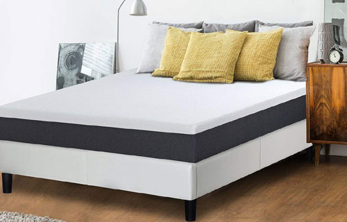 Olee Sleep 10 Inch EOS Multi Layer Gel Infused Memory Foam Mattress Overview