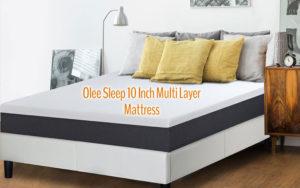Olee Sleep 10 Inch EOS Multi Layer Gel Infused Memory Foam Mattress Review