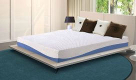 Olee Sleep 10 Inch Gel Infused Layer Top Memory Foam Blue Mattress Review