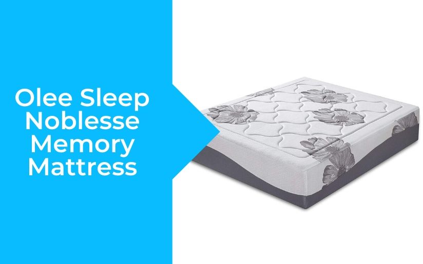 Olee Sleep Noblesse Memory Mattress Review