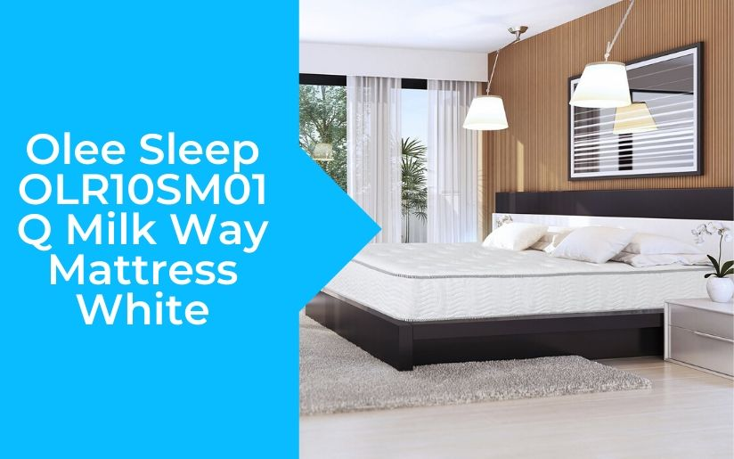 Olee Sleep OLR10SM01Q Milk Way Mattress White Review