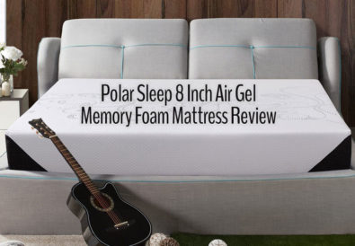 Polar Sleep 8 Inch Air Gel Memory Foam Mattress Review
