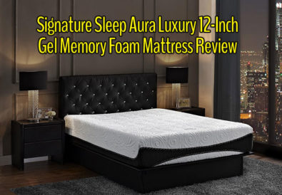 Signature Sleep Aura Luxury 12-Inch Gel Memory Foam Mattress Review