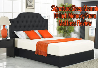Signature Sleep Memoir 10 Inch Memory Foam Mattress Review