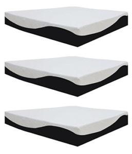 Spinal Solution 8 Inch Gel Memory Foam Orthopedic Mattress