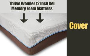 Thrive Wonder 12 Inch Gel Memory Foam Mattress Cover