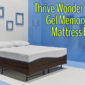 Thrive Wonder 12 Inch Gel Memory Foam Mattress Review