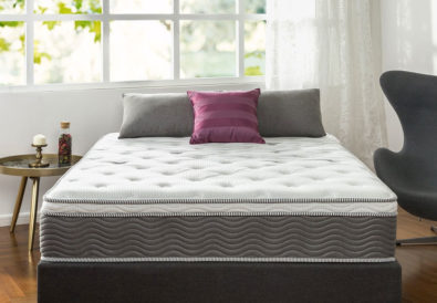Zinus 12 Inch Performance Plus Extra Firm Spring Mattress Review