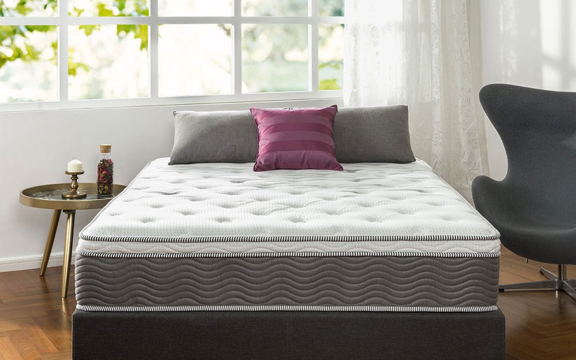 Zinus Extra Firm iCoil 12 Inch Support Plus Mattress Review