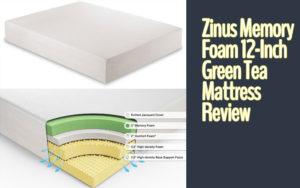 Zinus Memory Foam 12-Inch Green Tea Mattress Review