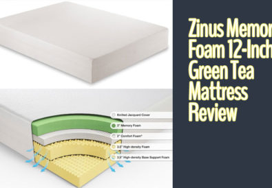 Zinus Memory Foam 12-Inch Green Tea Mattress Review
