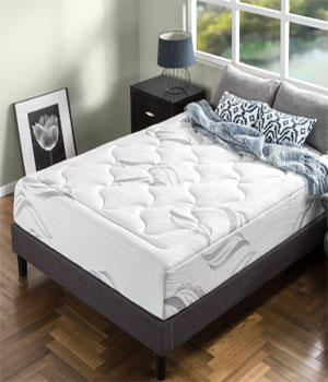 Zinus Memory Foam 12 Inch Premium Cloud-like Mattress