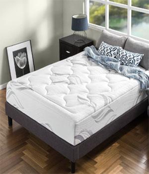 Zinus Memory Foam 12 Inch Premium Ultra Plush Cloud-like mattress review