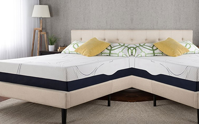 "Night Therapy Mattress Review: Zinus 13"" Gel Memory Foam"