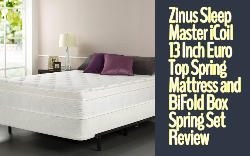 Zinus Sleep Master iCoil 13 Inch Review