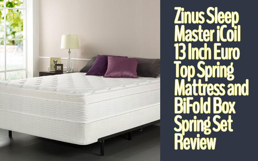 Zinus Sleep Master iCoil 13 Inch Review