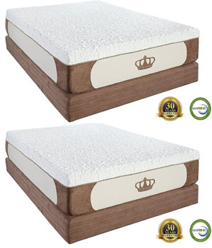 DynastyMattress Memory Foam Mattress Under $500