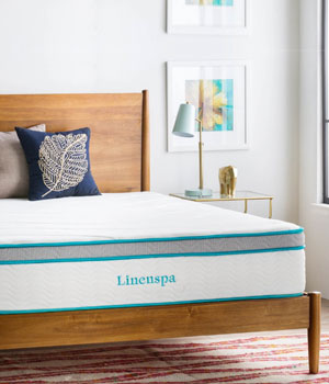 LINENSPA Memory Foam Mattress