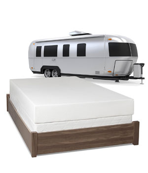 Serenia Sleep RV Memory Foam Mattress Under 500 Dollars