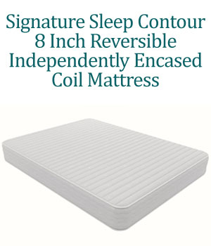 Signature Sleep Contour 8 Independently-Encased Coil mattress