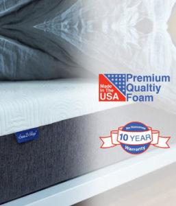 Sure2Sleep 10 inch Medium Firm Gel Memory Foam Mattress