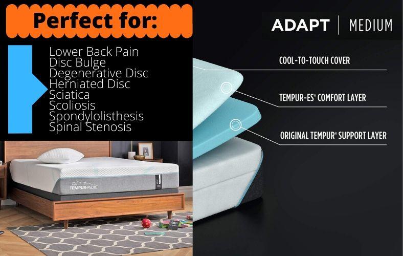 TEMPUR Adapt 11 Inch Memory Foam Mattress Review