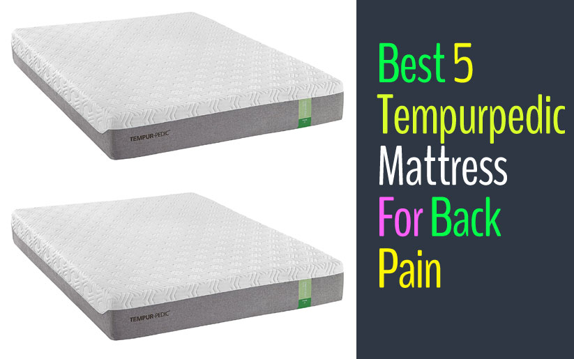 best Tempurpedic mattress for back pain