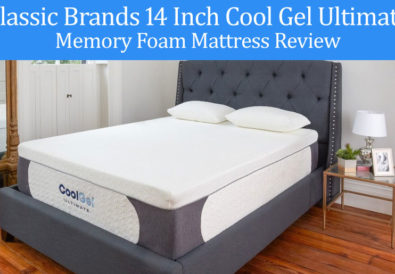 Classic Brands 14 Inch Cool Gel Ultimate Memory Foam Mattress Review