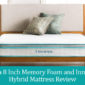 Linenspa 8 Inch Memory Foam and Innerspring Hybrid Mattress Review