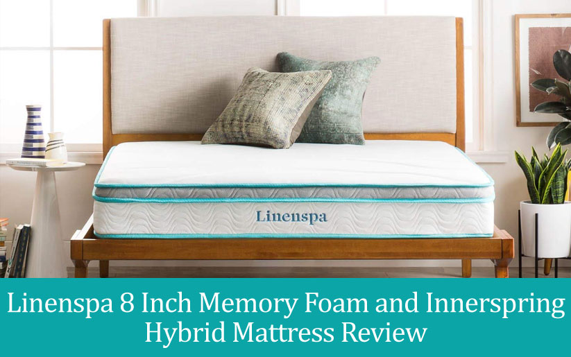 "Linenspa Hybrid Mattress Reviews: 8"" Memory Foam & Innerspring"