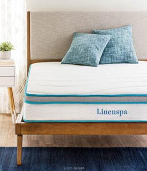Linenspa 8 Inch Memory Foam & Innerspring Hybrid Mattress Review
