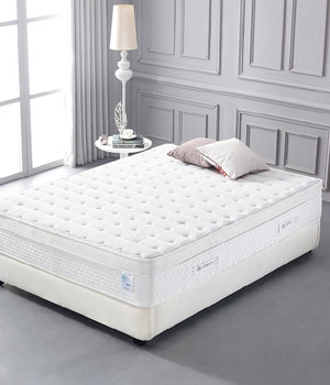Oliver and Smith Organic Cotton 12 Inch Cool Memory Foam & Pocket Spring Mattress