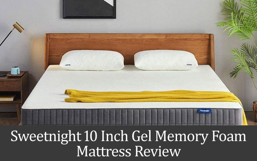 """Sweetnight 10"""" Gel Memory Foam Mattress Review"""