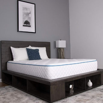Arctic Dreams 10 Inch Cooling Gel Mattress Under 300 Dollars