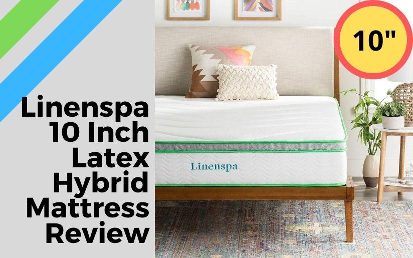 Linenspa 10 Inch Latex Hybrid Mattress Review