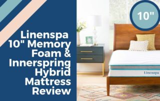 Linenspa 10 Inch Memory Foam and Innerspring Hybrid Mattress Review