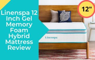 Linenspa 12 Inch Gel Memory Foam Hybrid Mattress Review