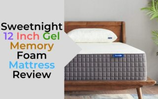 Sweetnight 12 Inch Gel Memory Foam Mattress Review