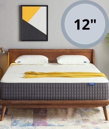 Sweetnight 12 Inch Medium Firm Queen Ventilated Gel Memory Foam Mattress Review