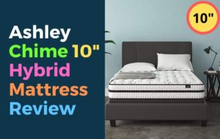 Ashley Chime 10 Inch Hybrid Mattress Review