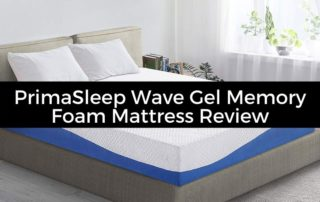 PrimaSleep Wave Gel Infused Memory Foam Mattress Review