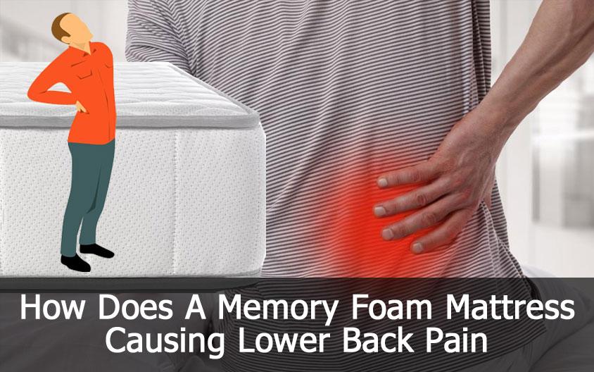 Memory Foam Mattress Causing Lower Back Pain