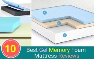 10 Best Gel Memory Foam Mattress Reviews