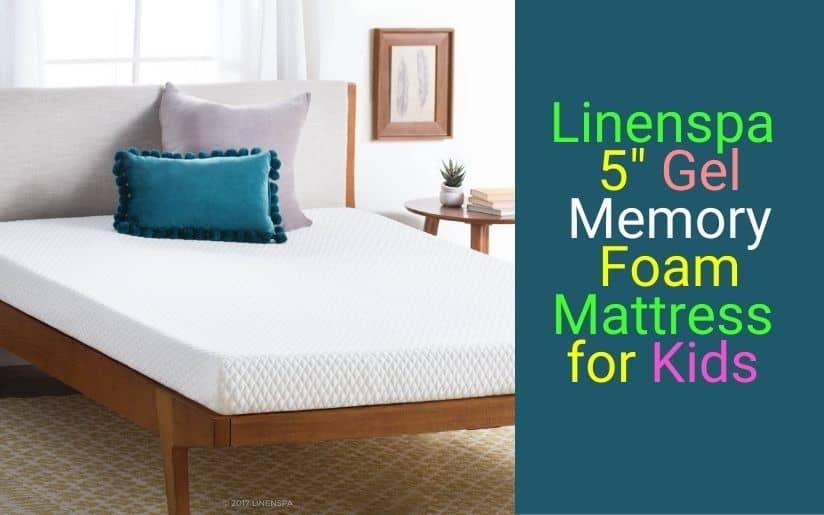 Linenspa 5 Inch Gel Memory Mattress