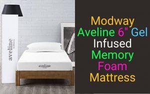 Modway Aveline 6″ Gel Infused Memory Foam Mattress